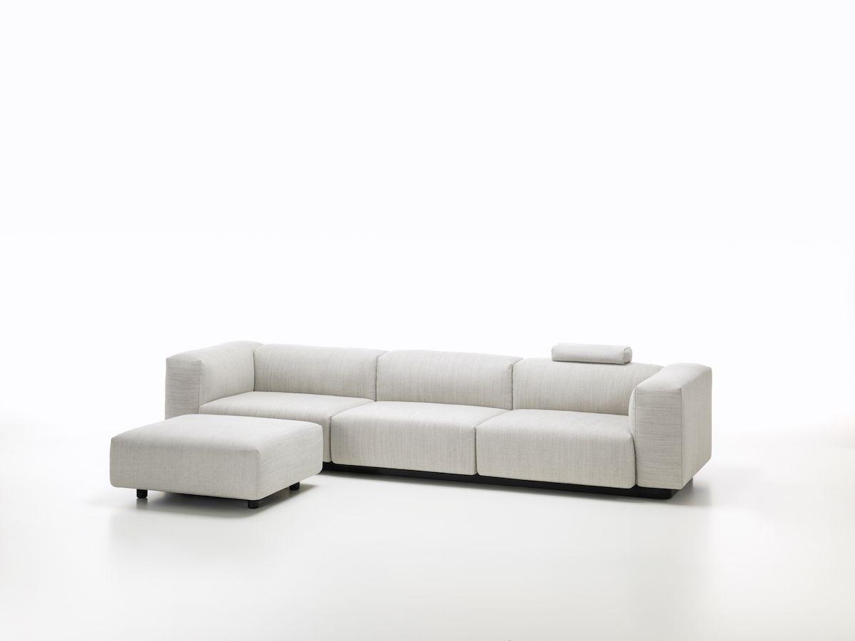 Sofa Sleeper Soft Modular Sofa by Jasper Morrison for Vitra
