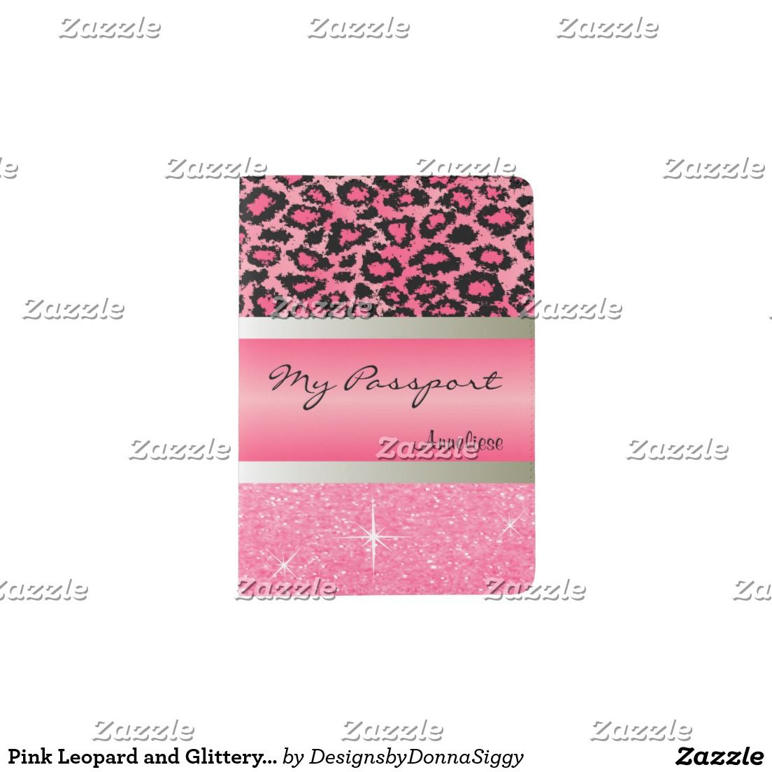 #Sold 2 | #Pink #Leopard and Glittery Print #Passport #Holders