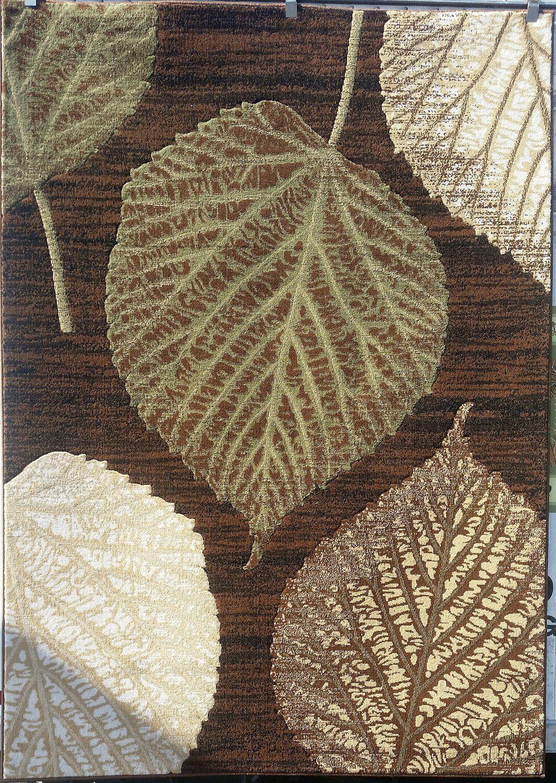 Modern Area Rug Leaf And Flowers Design Luxury Rugs Carpet Ideas