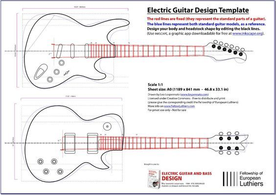 An editable blueprint of a les paul and a stratocaster will serve an editable blueprint of a les paul and a stratocaster will serve you as a reference of size and shape simply open this file with adobe illustrator malvernweather Images