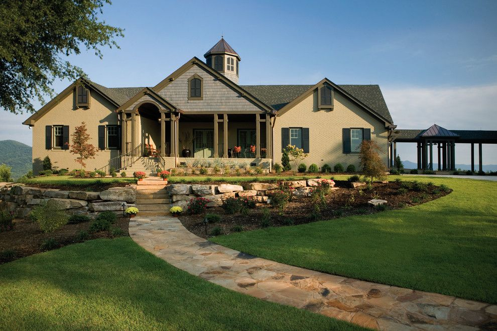 Image by freeman major architects brick ranch plans for Ranch style home builders