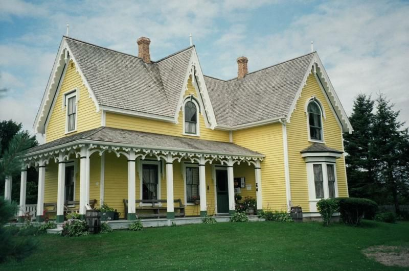 Search Top Real Estate Blogs Yellow Houses Victorian Homes Green Gables