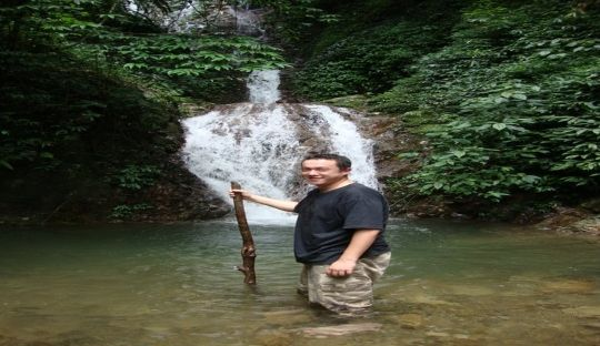 Daniel Hu Dhar-PARADISE AFTER HOURS OF TRECKING