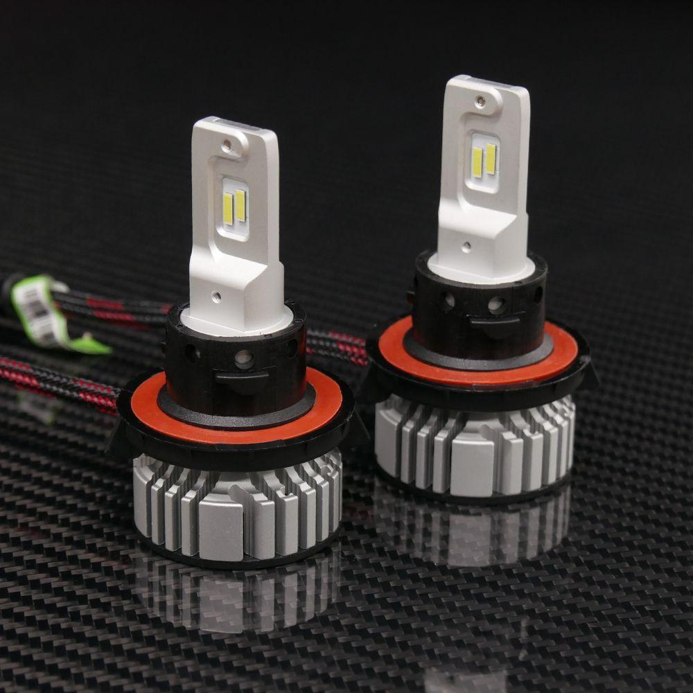 V 4 Led Headlights H13 Bulbs Led Headlights Headlight Bulbs Bulb