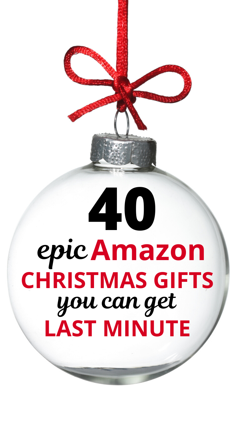 40 Last Minute Christmas Gift Ideas You Can Find on Amazon