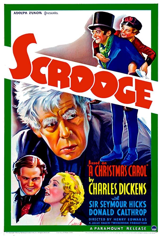 Scrooge (1935) (With images) Scrooge movie, Scrooge