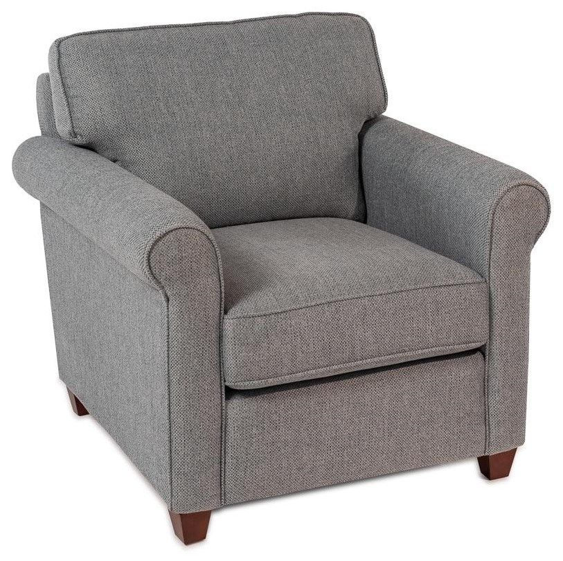 Wondrous Marina Roll Arm Accent Chair By Decor Rest Living Room Pabps2019 Chair Design Images Pabps2019Com