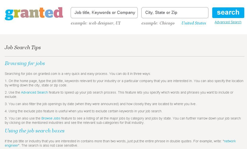 Awesome Awesome Job Search Tips On Granted.com