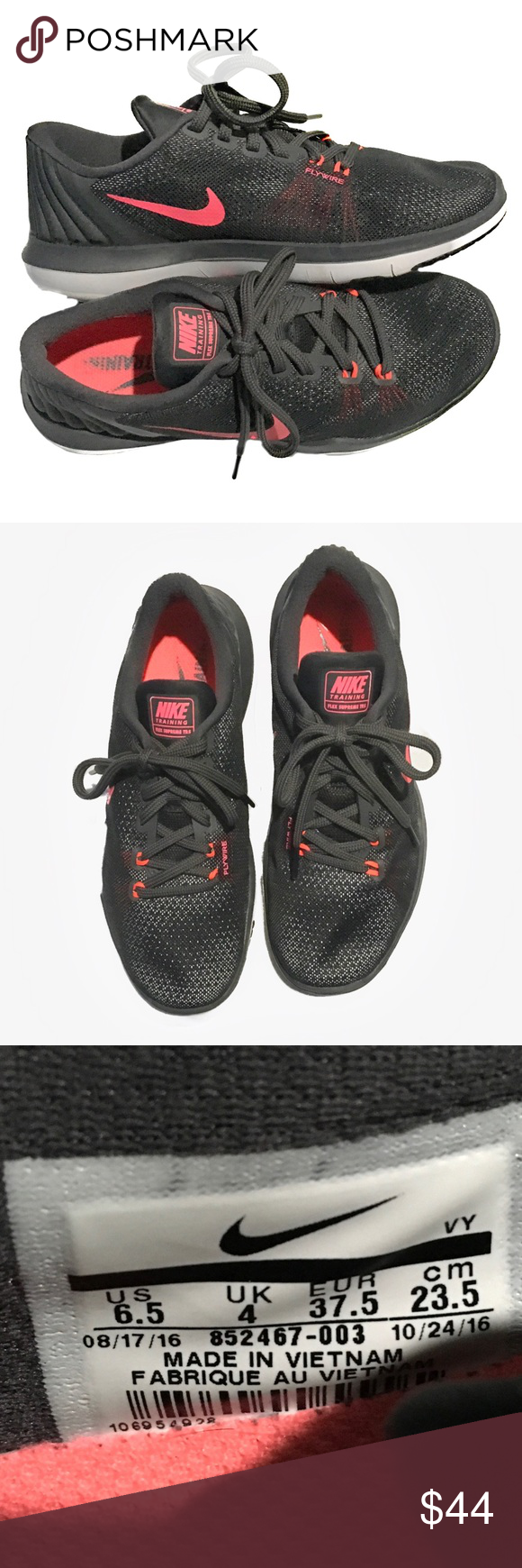 58374a5d5cf8 Nike Training Flex Supreme TR5 Running Shoes 6.5 Designed to meet all of  your training demands