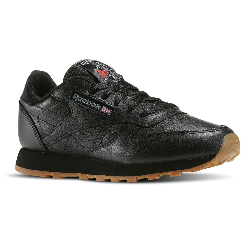 Reebok Classic Leather Women S Shoes Black Reebok Us Reebok Classic Leather Black Classic Leather Leather Shoes Woman