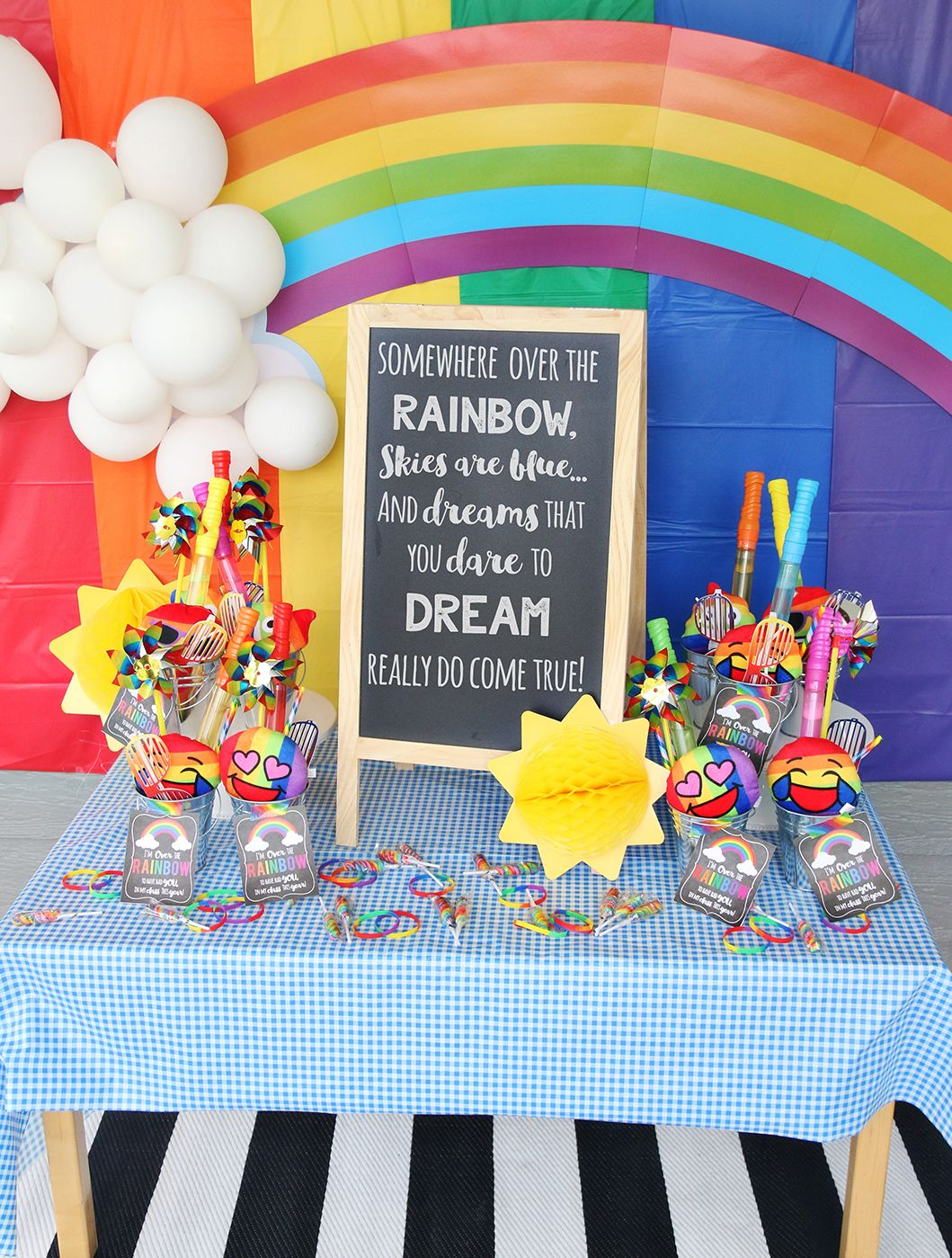 Rainbow Pre K Graduation Celebration With Images