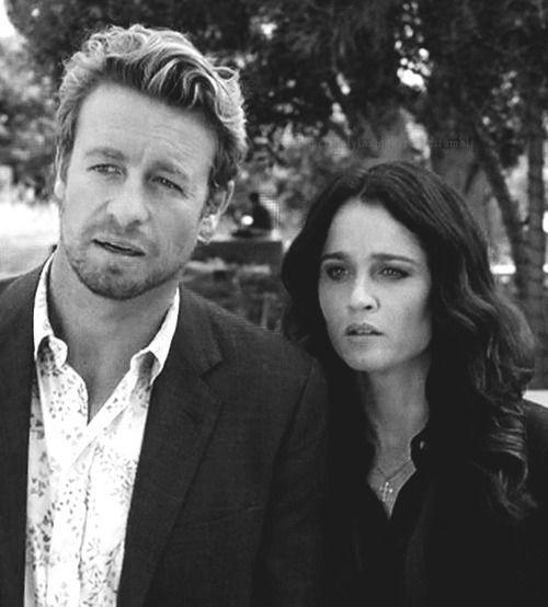 Patrick Jane and Teresa Lisbon