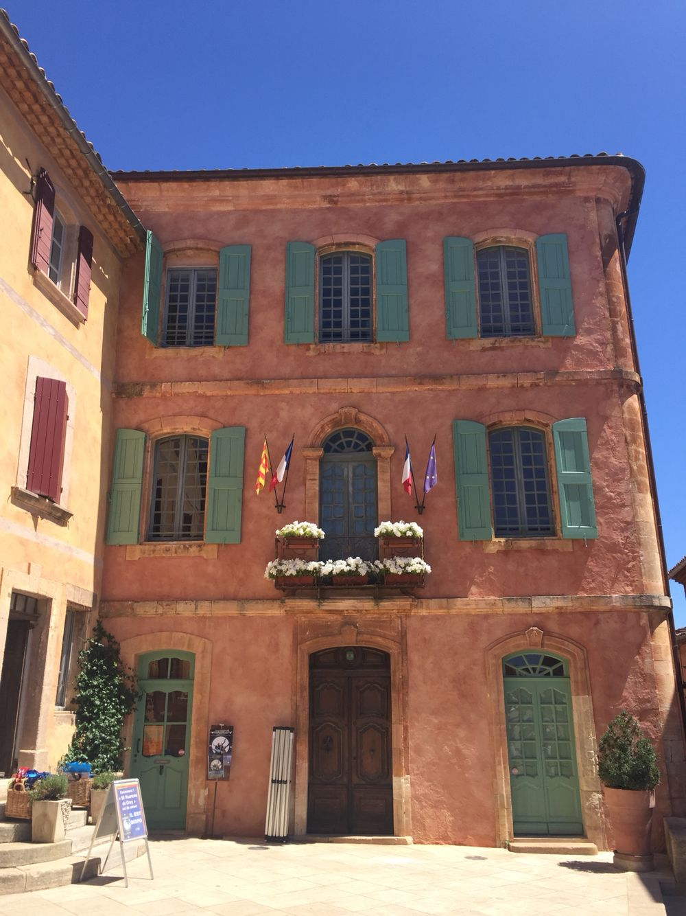 Roussillon, lovely Vaucluse-Provence