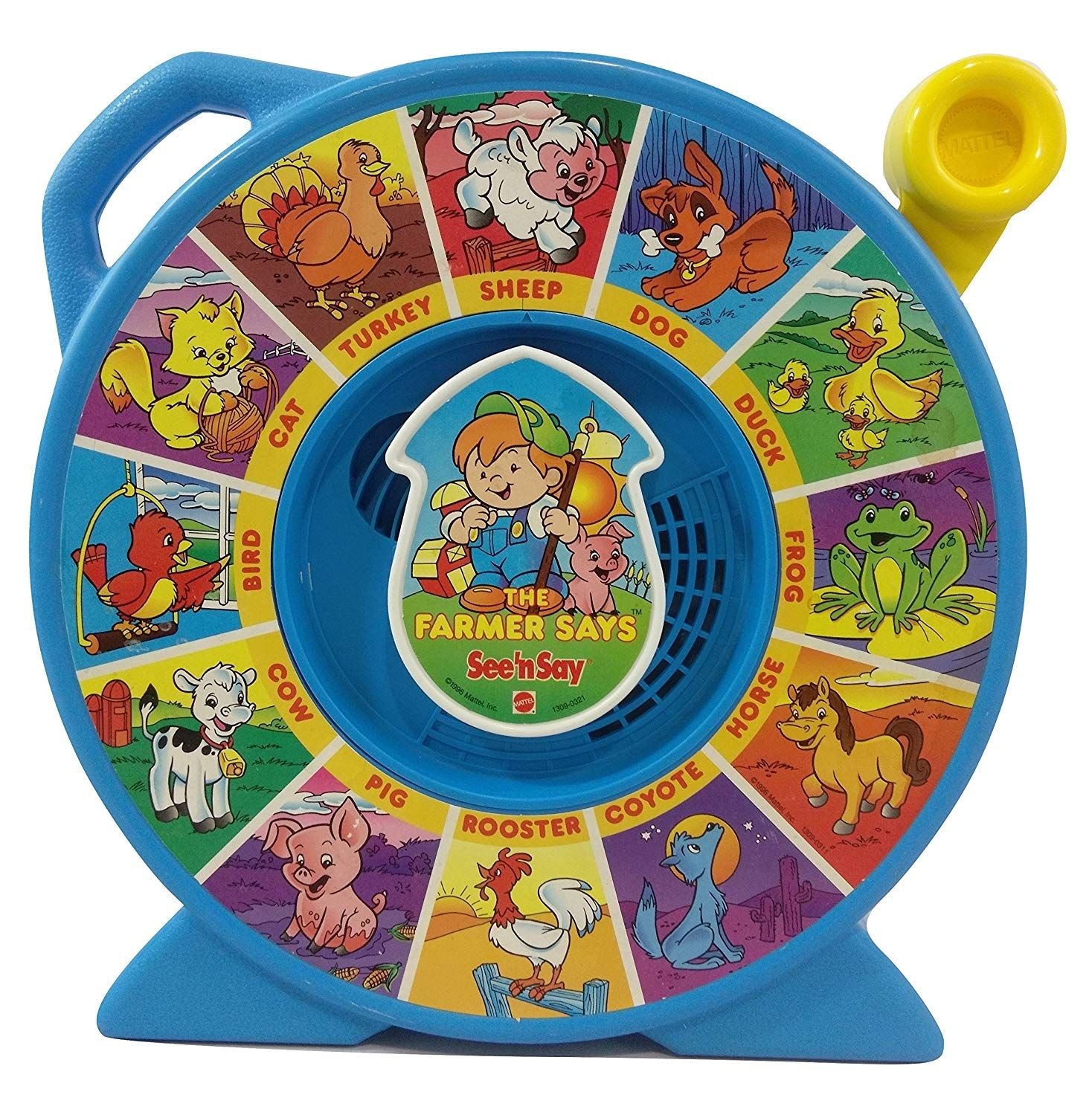 Fisher Price Classic Farmer Says See /'n Say Learn Animal Sounds Fast Shipping