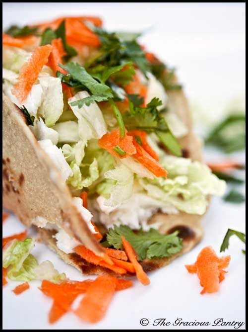 Fresh, Homemade Fish Tacos