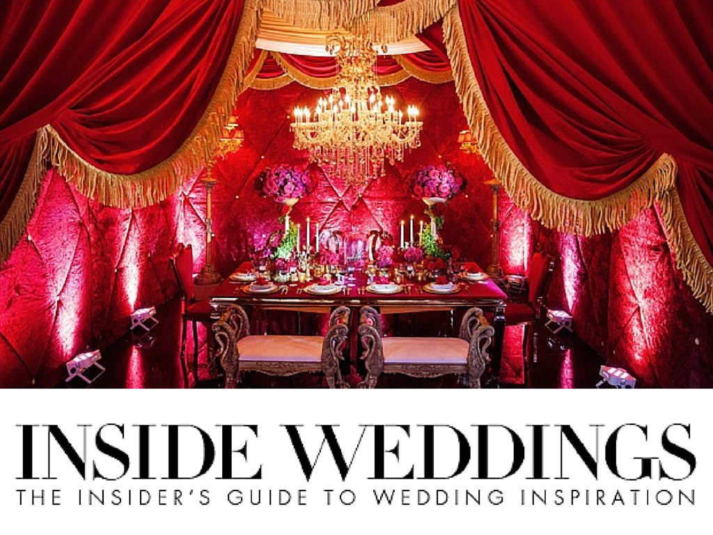 Inside wedding decoration ideas  Our stunningly dramatic red styled shoot inspired by Disneyus Beauty