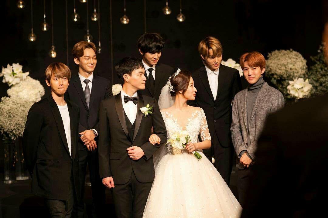 """Cute Exo In Wedding ̼€ì´íŒ Ì°¬ì—´ Ë°±í˜"""""""