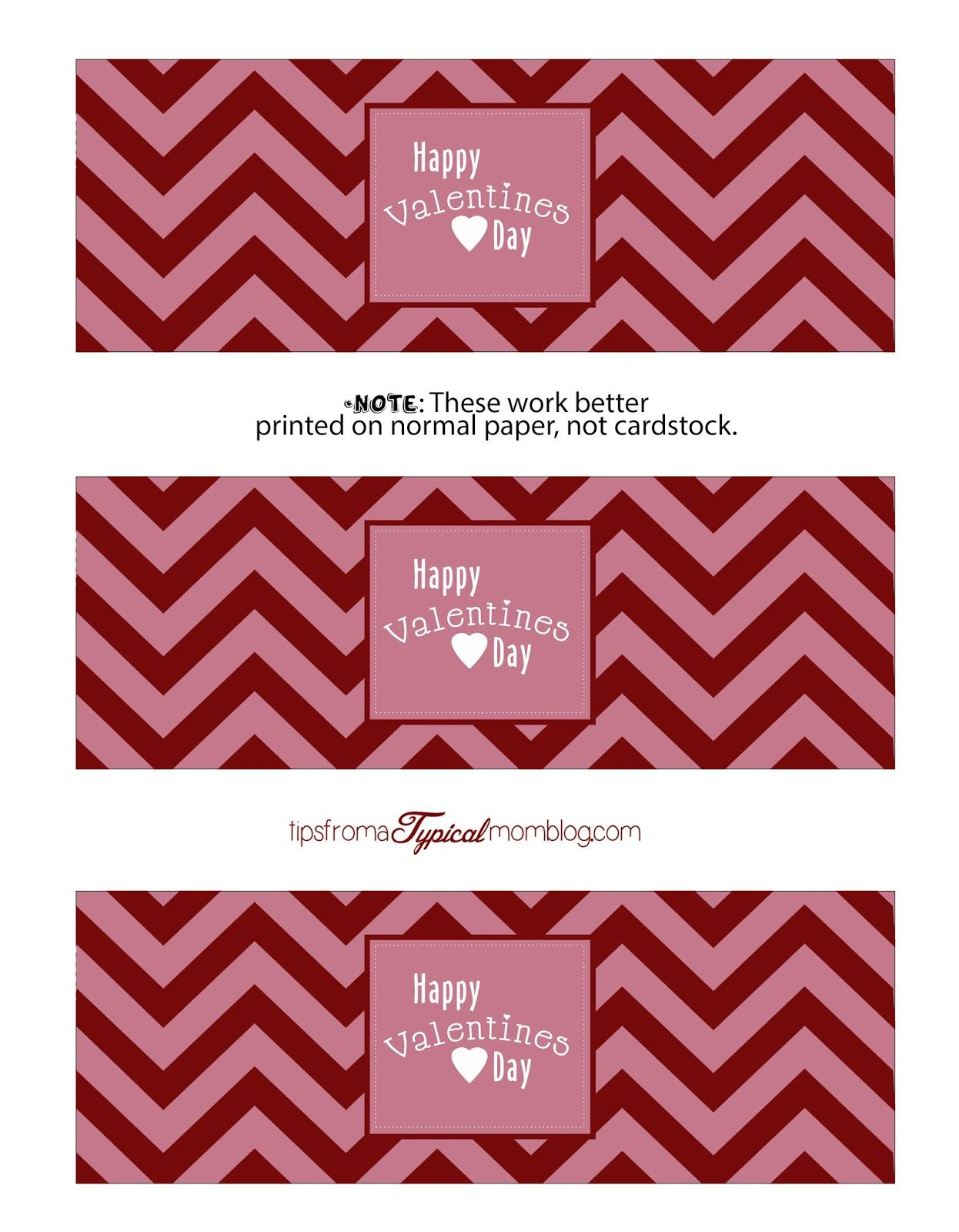Free Valentines Day Chevron Party Printables Tips From A Typical Mom Valentines Beer Labels Valentines Beer Valentines Printables Free