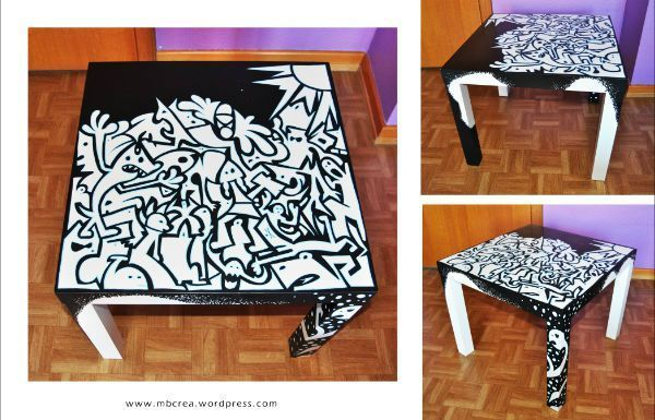 Table 1b Mb Crea Customiser Table Idee Deco Diy Ikea