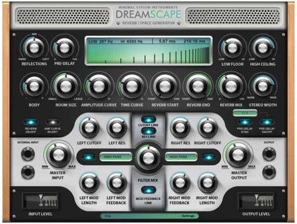 Dreamscape Reverb and Space Generator VST x86 WiN, x86, Win, VST