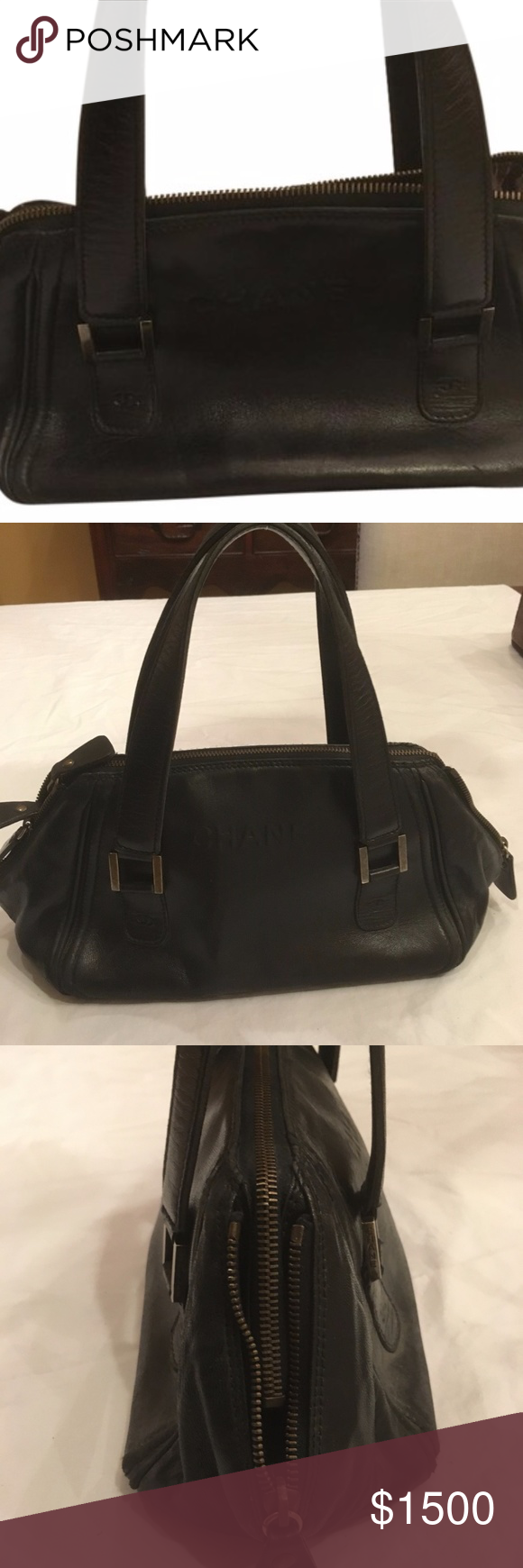 00aa0f94b0436d Spotted while shopping on Poshmark: Authentic VINTAGE Chanel Doctors Shoulder  Bag! #poshmark #fashion #shopping #style #CHANEL #Handbags