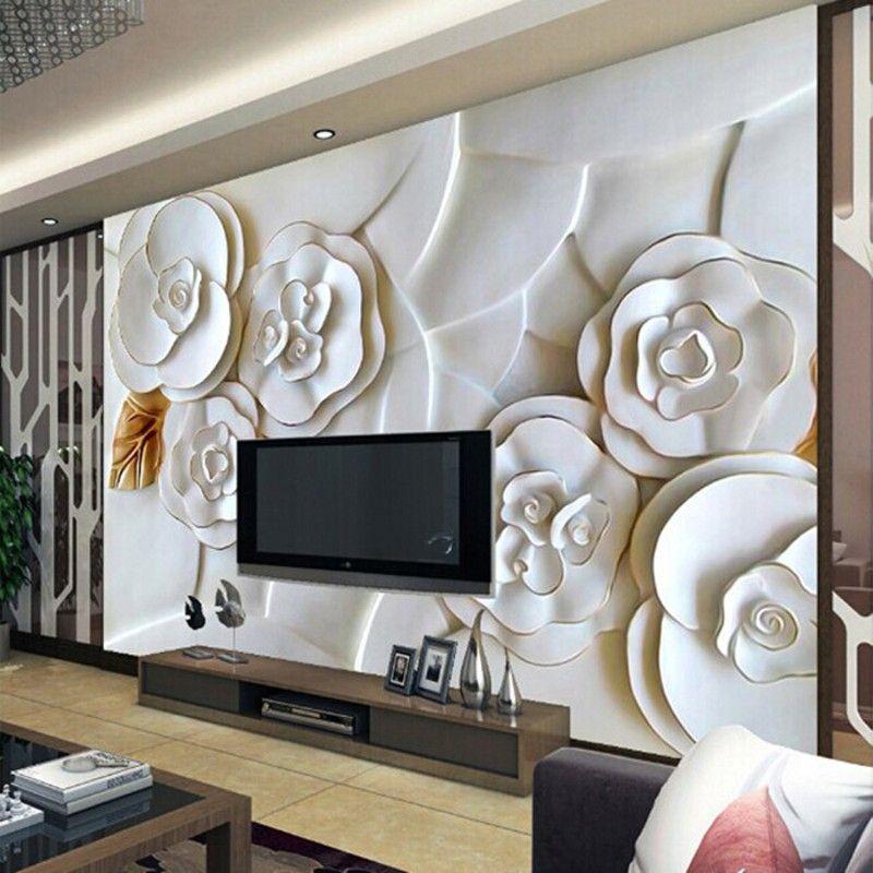 Tv papel parede o quarto sala de estar aconchegante for Wallpaper sala de estar