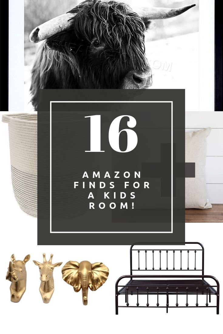 Amazon Boy's Room Finds (With images) | Toddler boy room ...