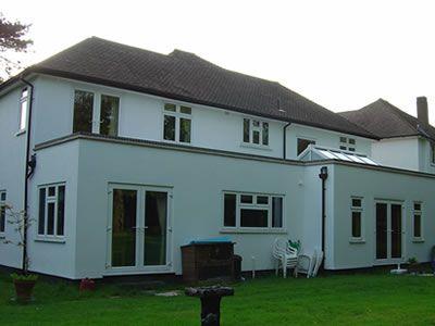 Flat Roof Lantern Parapet Flat Roof Extension Parapet Flat Roof