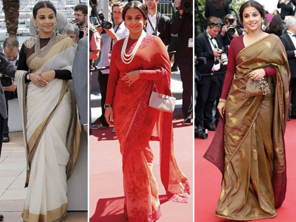 Love this woman! Even before Vidya Balan made her first appearance at the Cannes Film Festival in a Sabyasachi Mukherjee outfit last week, it was already evident that the actress would pick her favourite designer to dress her.