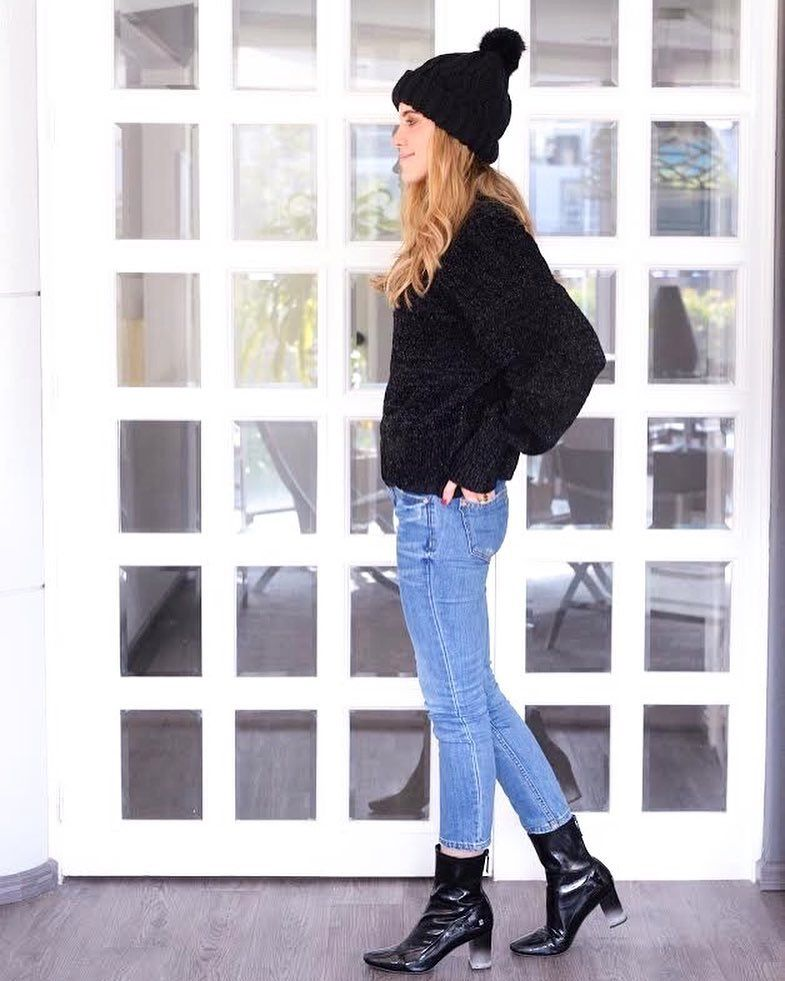 36921019c Winter casual outfit  jeans
