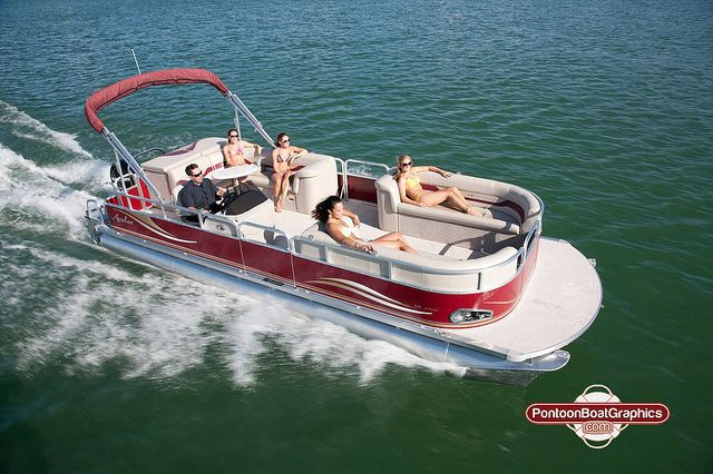 Pontoonboatgraphicsvinyldecals Pontoon Boating And Boating - Decals for pontoon boats
