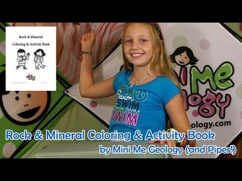 Coloring Book Video by Mini Me Geology - review by Piper ...