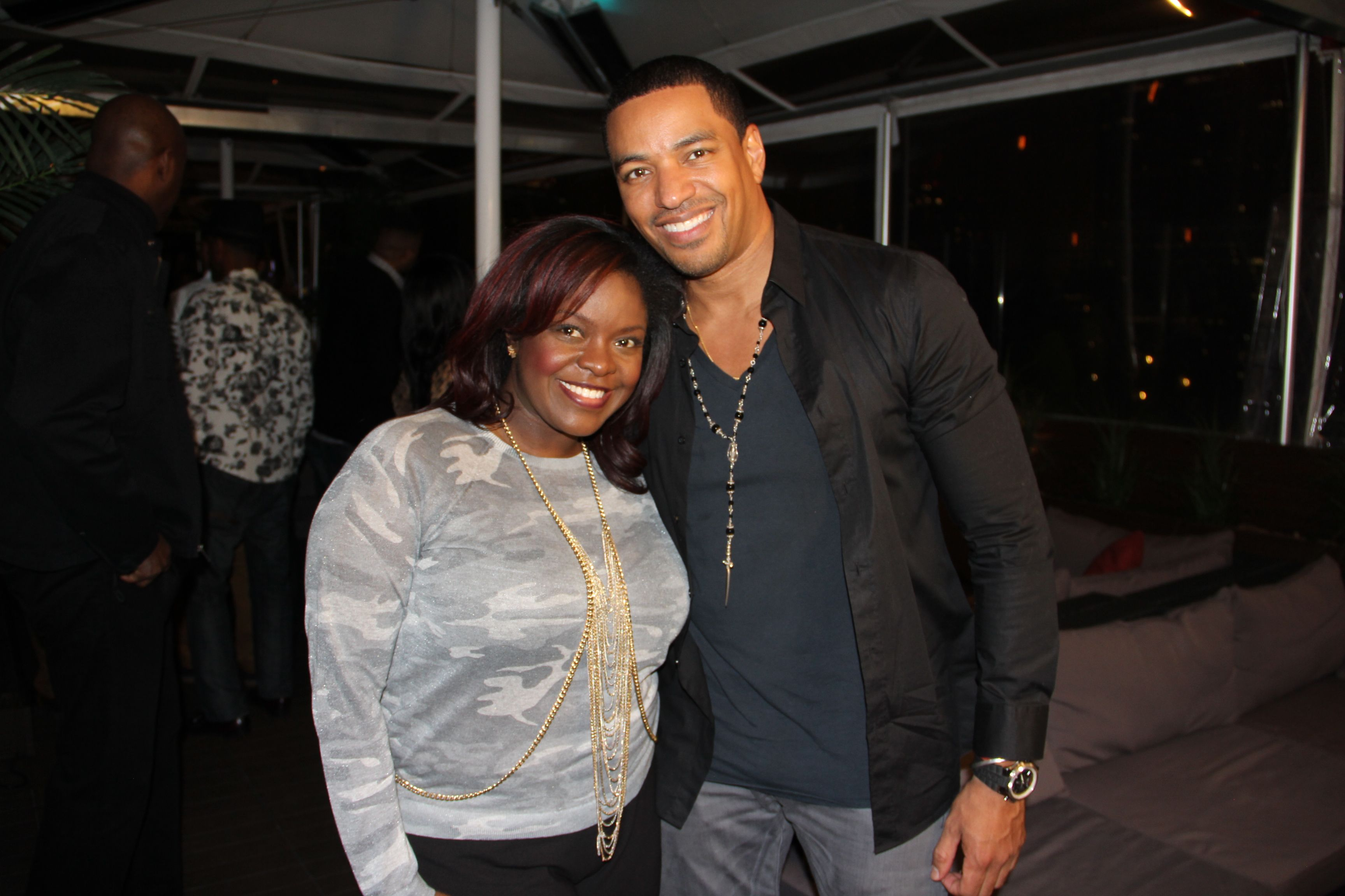 All-Star weekend's hottest Saturday ticket was 'Got Game' day party with Laz Alonso