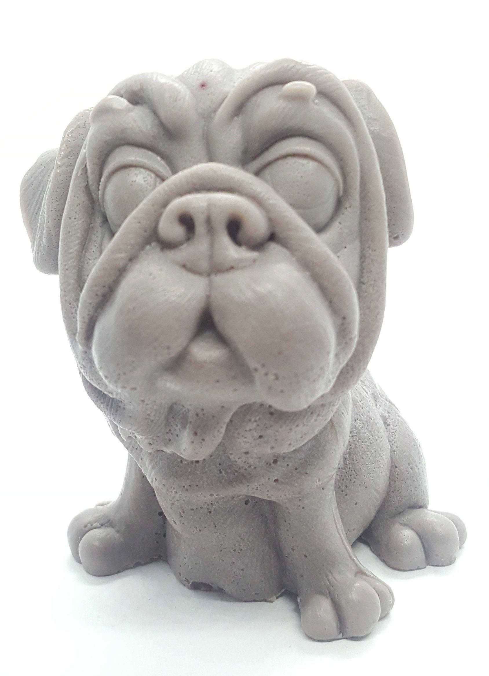 Mops Rasse Hund Seife Gast Geschenk Idee Weihnachten Geburtstag