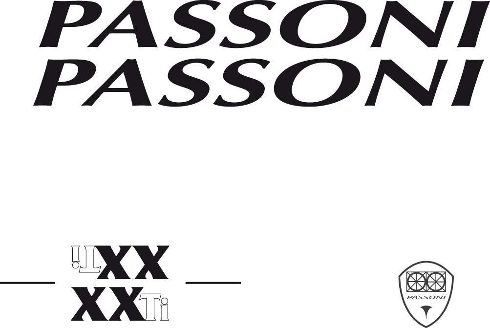 Studio logo XXTI Passoni