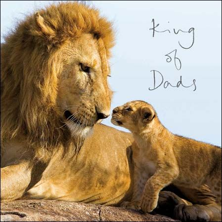 Mane man king of dads fathersday card the greeting inside reads mane man king of dads fathersday card the greeting inside reads happy fathers m4hsunfo