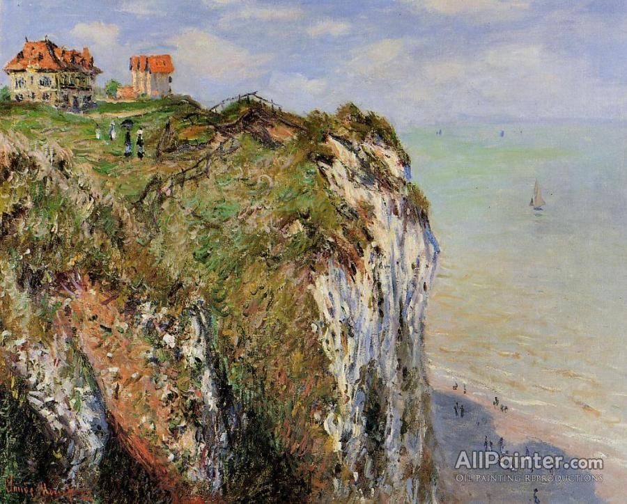 Claude Monet The Cliff At Dieppe oil painting reproductions for sale