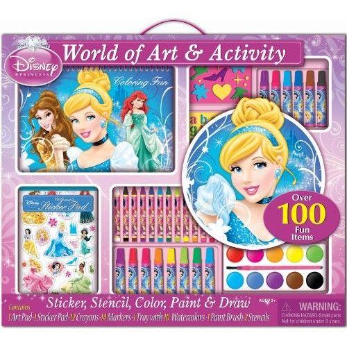 Bendon Disney Princess Giant Art Set Toysplus Advent Calendars For Kids Art Pad Art