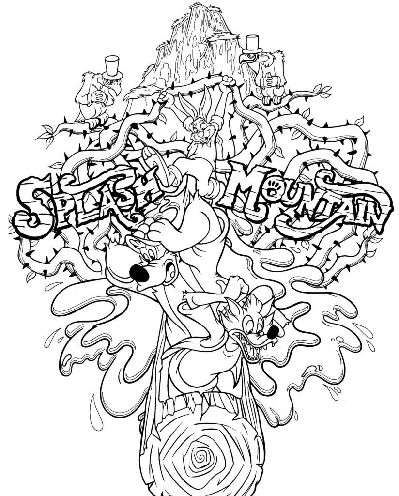 Walt Disney World Coloring Pages The Disney Nerds Podcast Disney Nerd Disney World Nerd