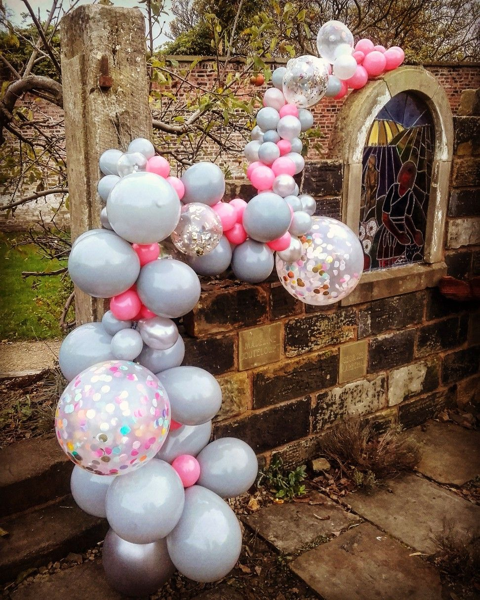 Wedding decoration ideas balloons  Created by Ballloonsmith wedding balloon ideas  organic balloon