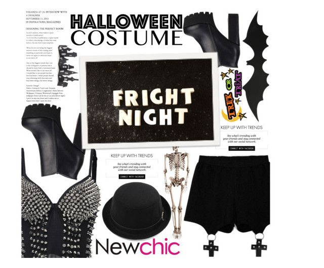 """""""Newchic ♥"""" by av-anul ❤ liked on Polyvore featuring Chicnova Fashion, Erdem, Crate and Barrel, chic, New, newchic and avanul"""