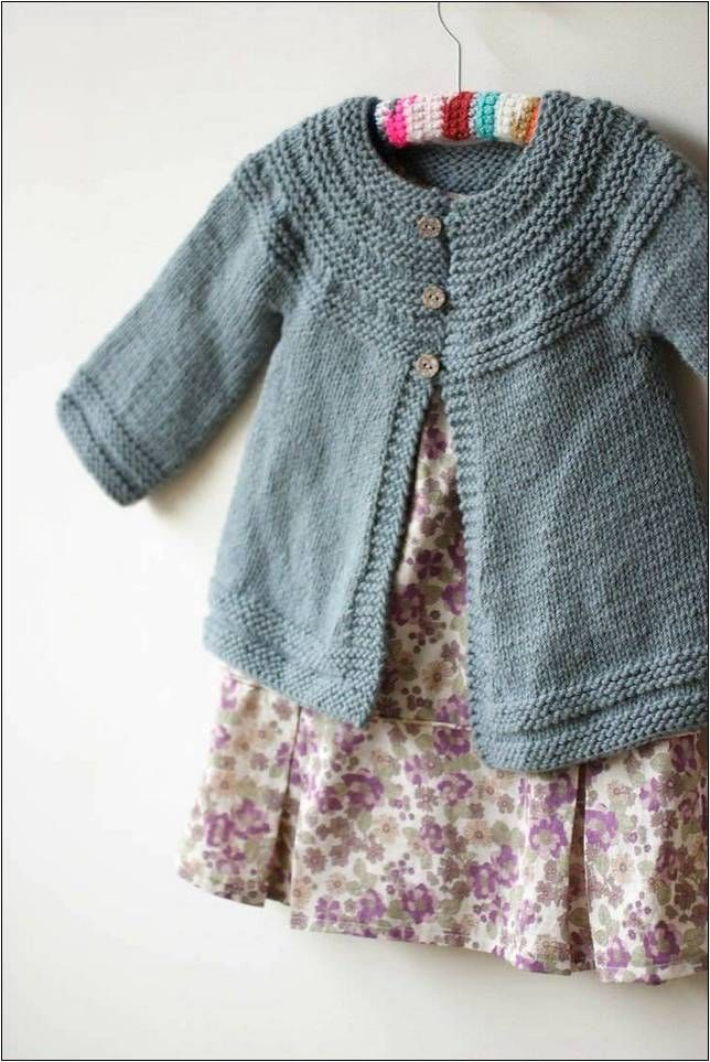 Photo of Cardigan Knitting Instructions Free Children