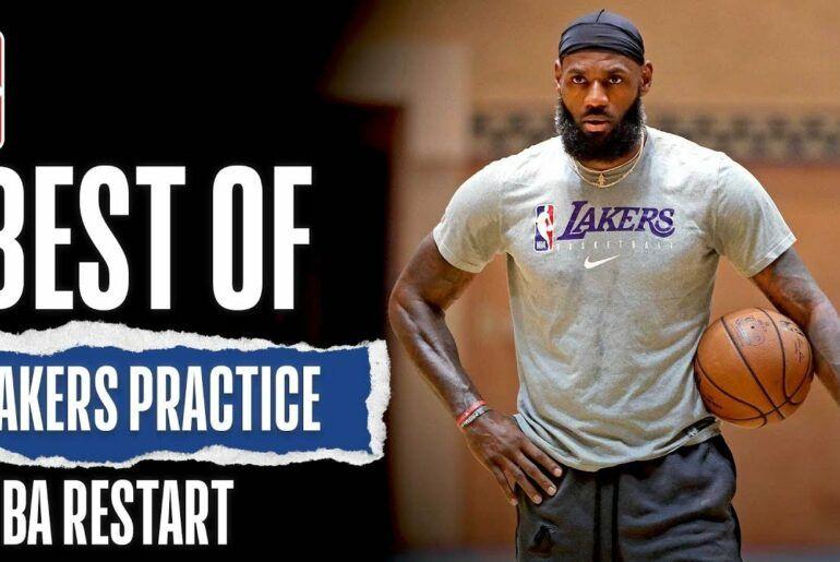 Nbavideos Best Of Lakers Practice Nba Restart In 2020 Nba Lakers Nfl Football Teams