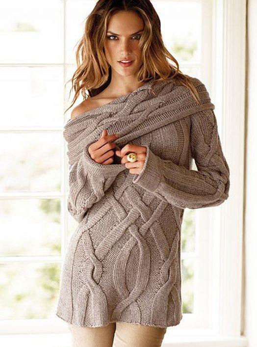 belle robe pull over beige femme en maille torsad e en tricot fait main pulls gilets par mes