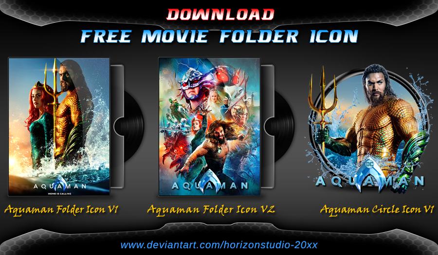 Aquaman (2019) Folder Icon Pack Folder icon, Aquaman