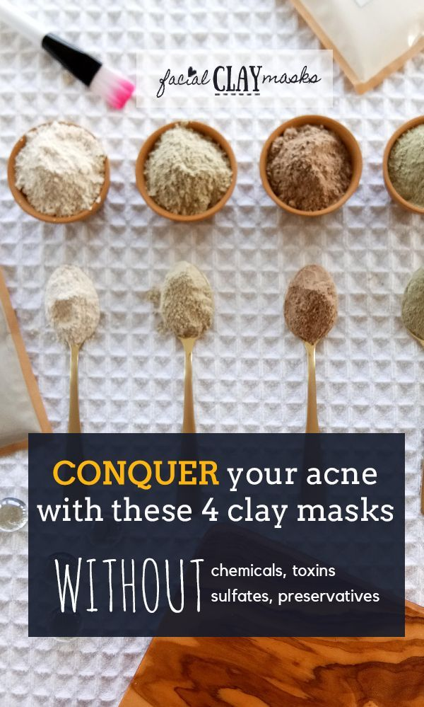 Facial Clay Masks | You will LOVE these Clay Mask Recipes -   17 skin care Masks facials ideas