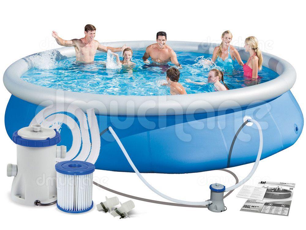Basen Ogrodowy Rozporowy 457 X 84 Cm 3w1 Bestway 57313 Pool Bestway Pool Float
