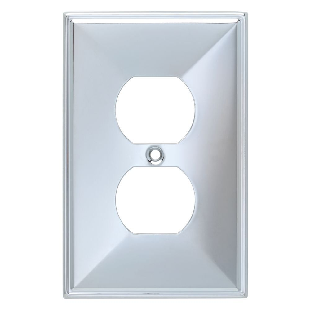 7 BRAINERD 135875 Beverly Single Duplex Wall Plate / Switch Plate ...