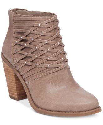 Jessica Simpson Claireen Studded Booties | macys.com