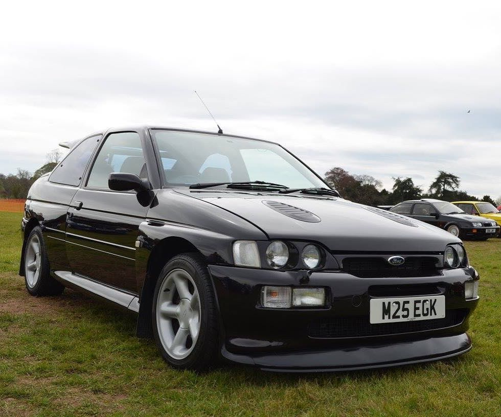 Beautiful Escort Cosworth at the show yesterday #ford #fordescort #escortcosworth #rsoc #caroftheday #fordescortcosworth #fordmotorcompany #forduk by jane400rs